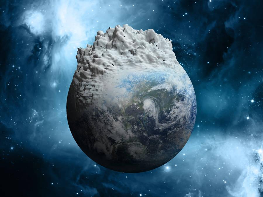 Frozen Earth by kevron2001