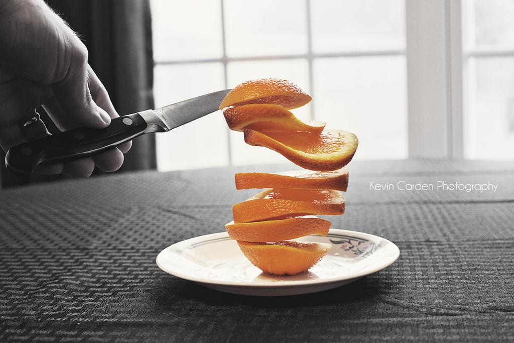 Levitation with fruit