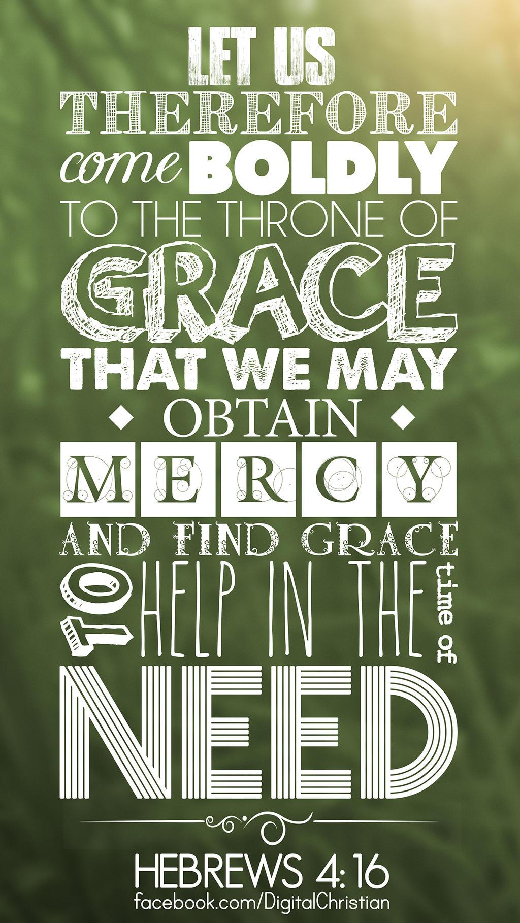 Hebrews 4:16 by kevron2001 on DeviantArt