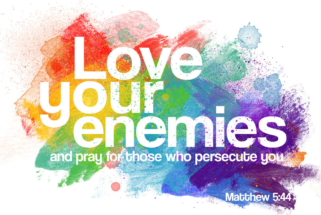 Image result for love your enemies pictures