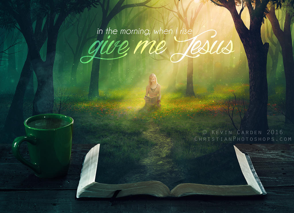 Give me Jesus by kevron2001
