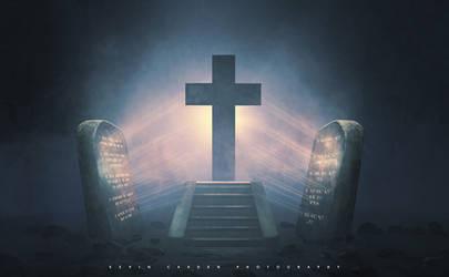Ten Commandments and the Cross