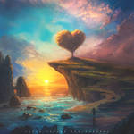 Valentines Day Matte Painting