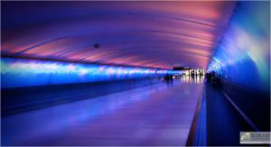 Airport Hallway, Michigan