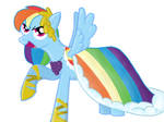 Rainbow Dash at the Gala