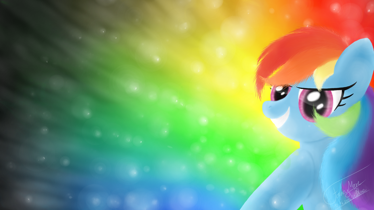 Rainbow Dash by Fancymareinblue