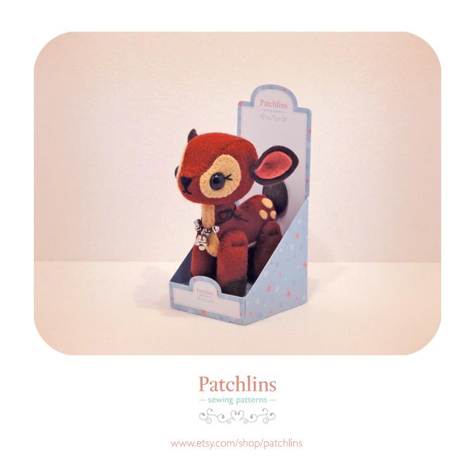 Blue Gift Box - PDF Net by Patchlins