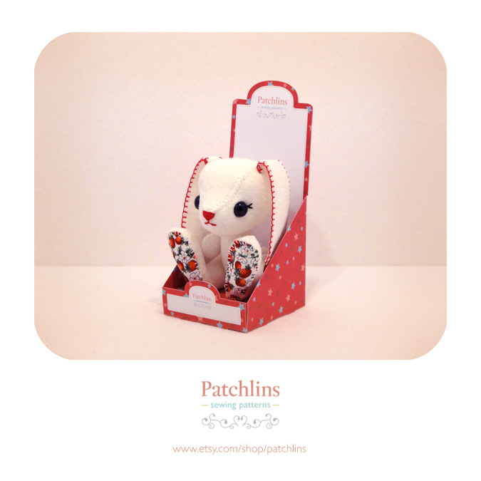 Red Gift Box - PDF Net by Patchlins