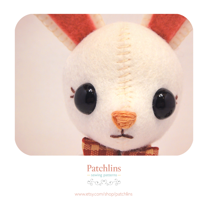 Bunny PDF Pattern by Patchlins