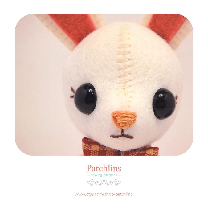 Bunny PDF Pattern by Patchlins
