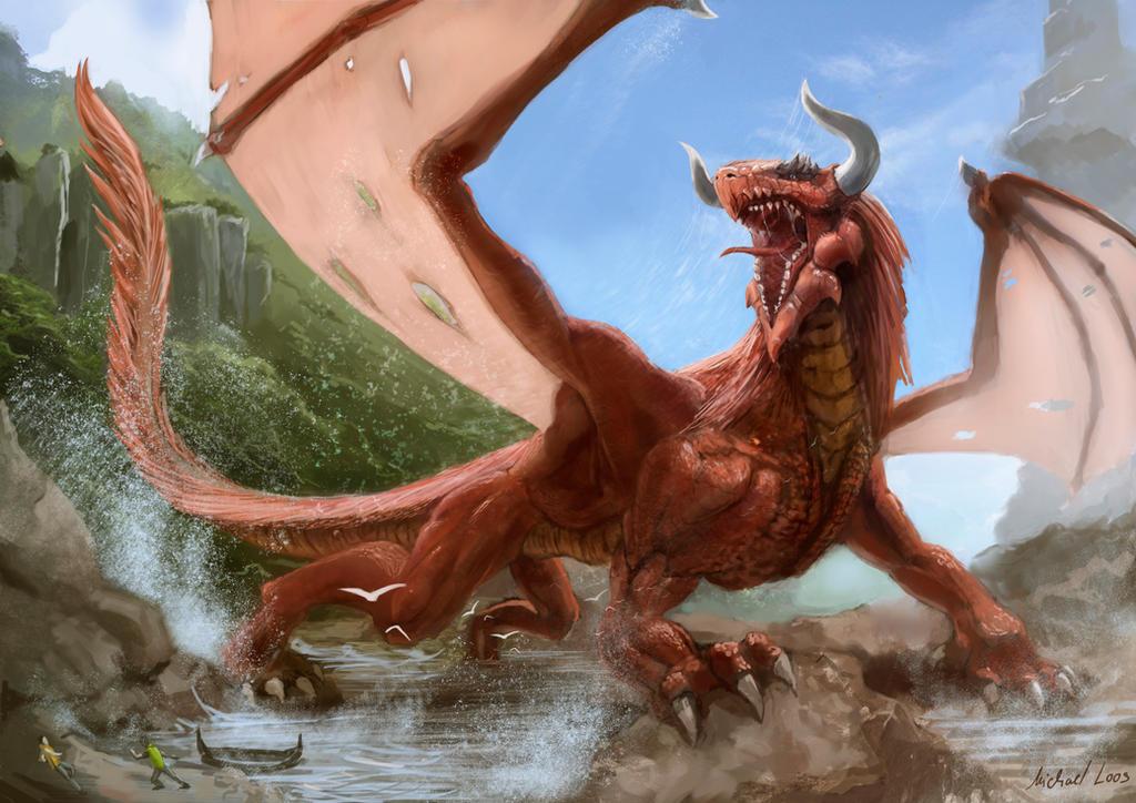 Dragon's Surge by MichaelLoos