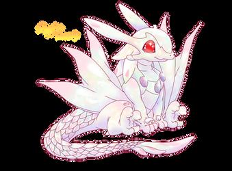 Commission : Chibi Opal Dragon