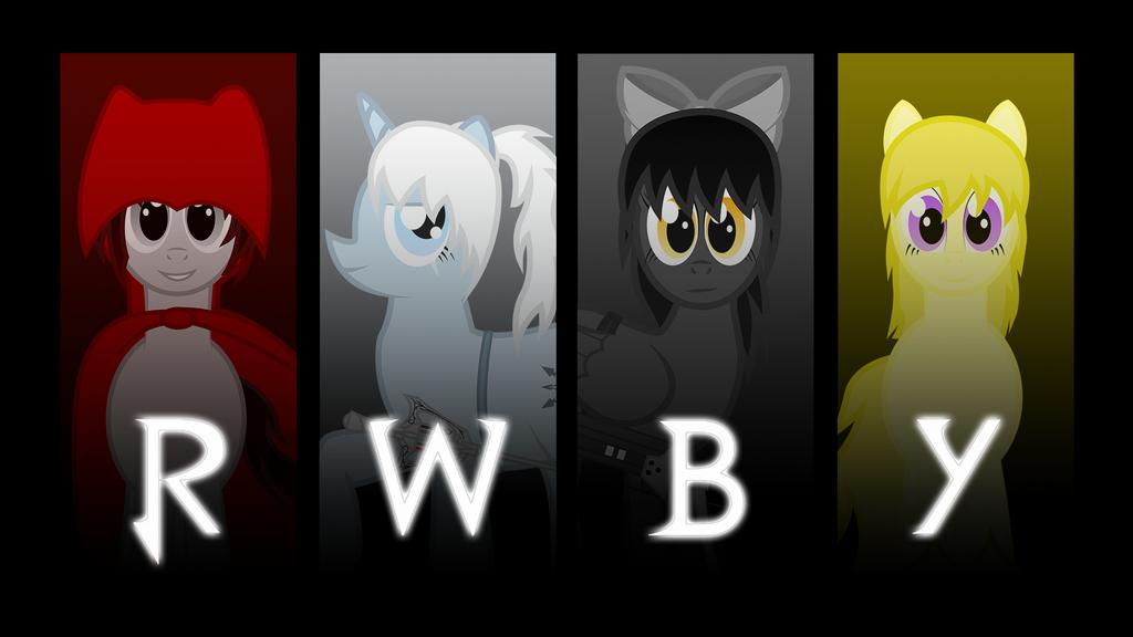 RWBY Pony Wallpaper by RainboomRunner on DeviantArt