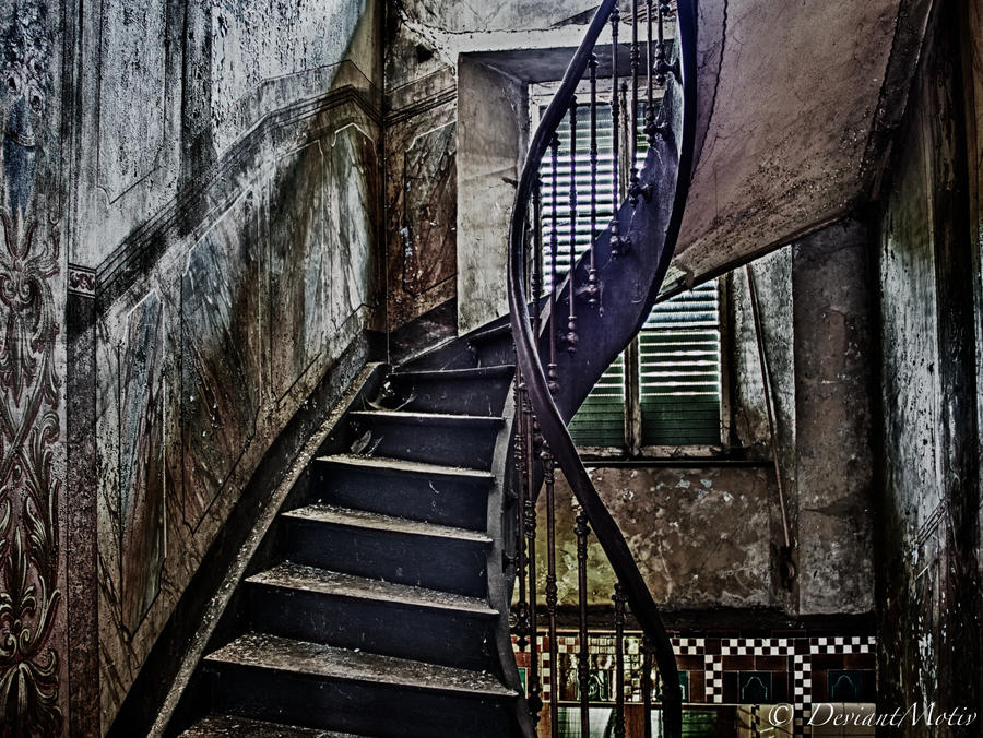 Dark Stairs by DeviantMotiv