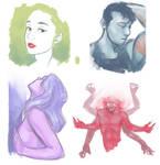 friends sketches