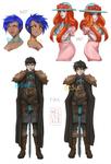 commission styles -  prime vs desu
