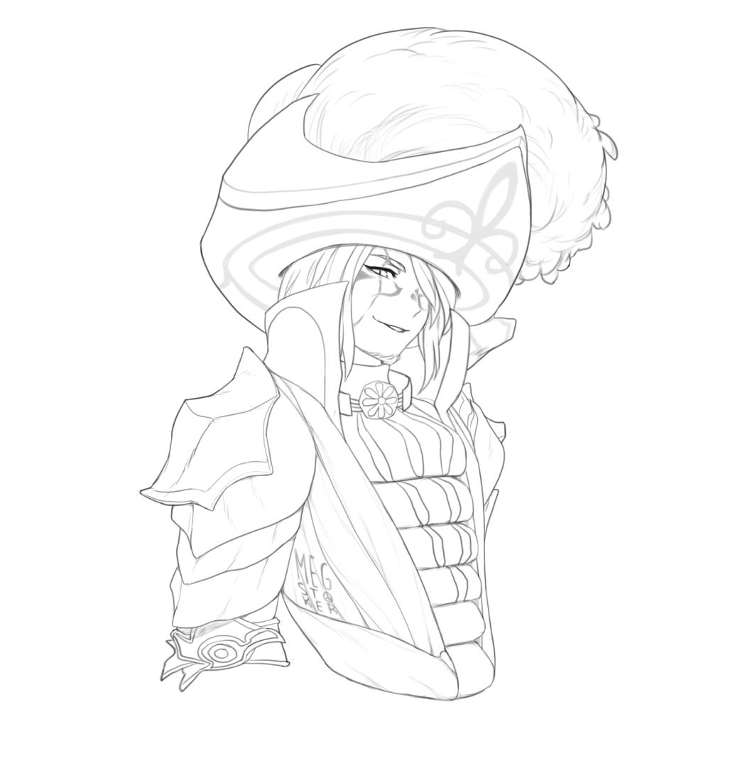 Knadozz [commission - lines]