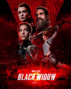Black Widow Movie Inspired Poster