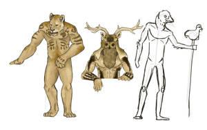 Paleolithic Mythology by LeonelSaberTooth