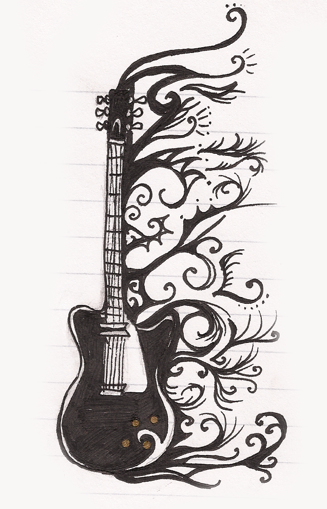 Guitarra By Lunicc On Deviantart