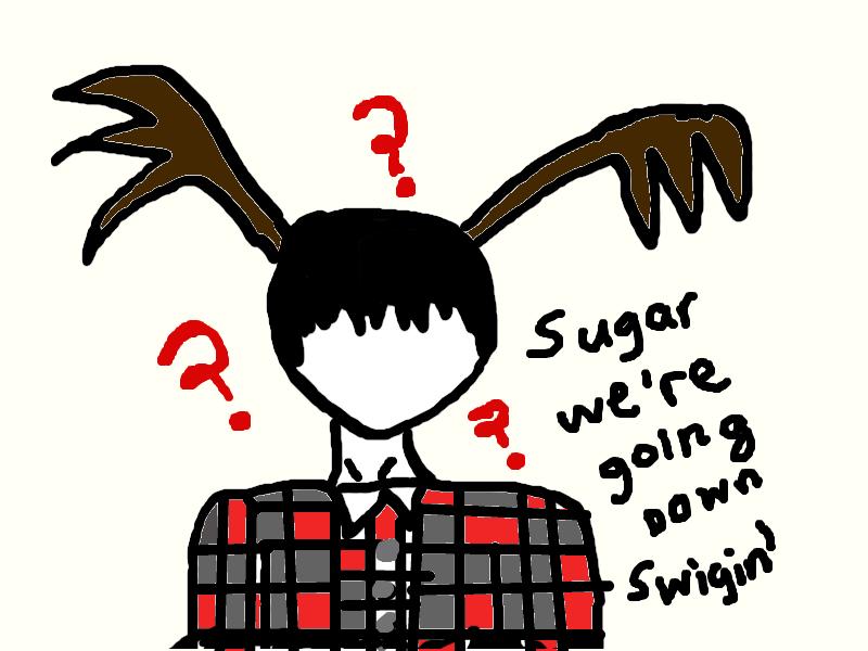 Sugar, we're going down~ by AsktheShyIzaya