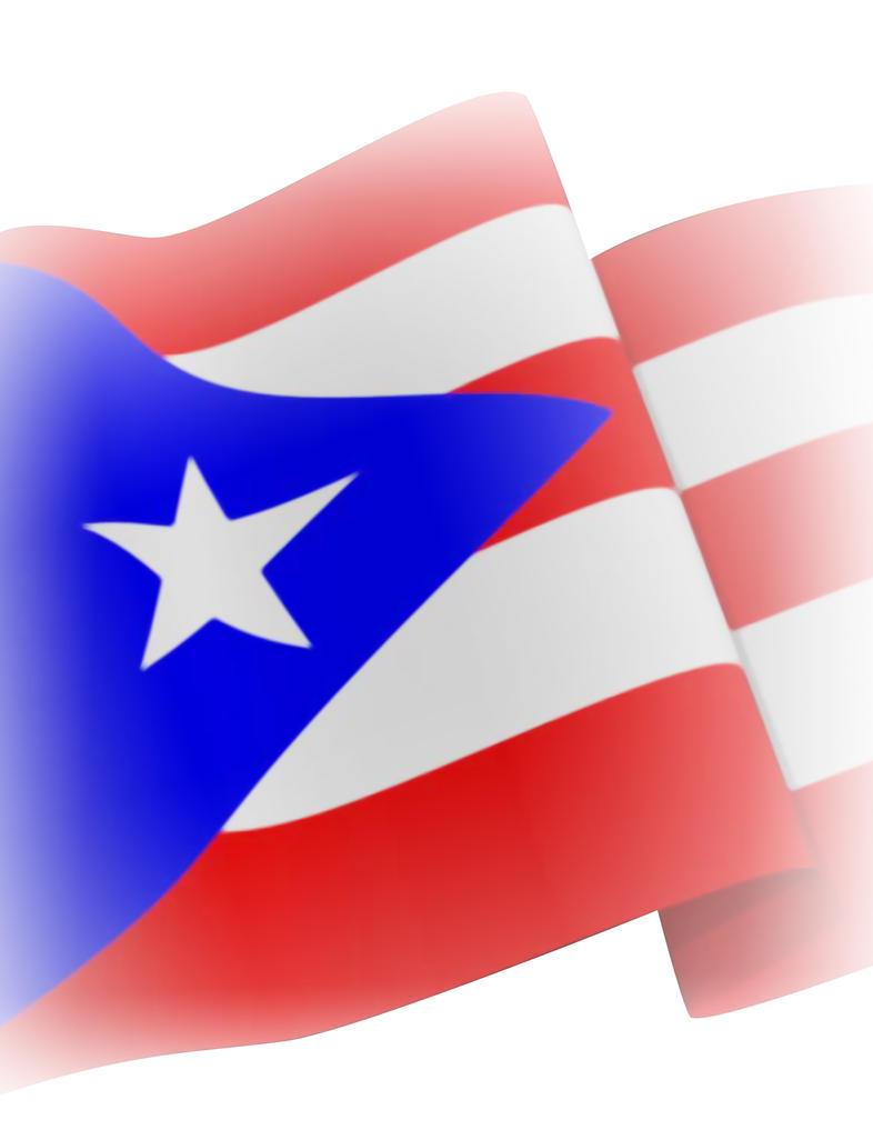 Puerto Rican Flag By Royalgenesis