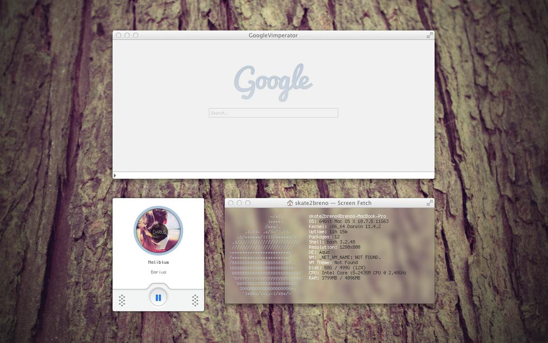 MY OS X Setup by BrenoAMP