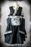 Elegant punk kimono set by funkyfunnybone