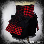 Kurai corset by funkyfunnybone