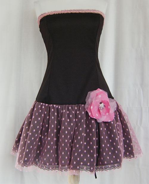 Pretty in a pink dress by funkyfunnybone on DeviantArt