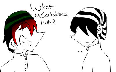 what a coincidence... by Kimaero