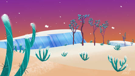 Frozen Desert