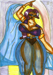 rarity of the belly dancer