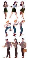 Lois, Jimmy and Clark