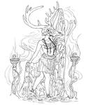 Hecate Lineart