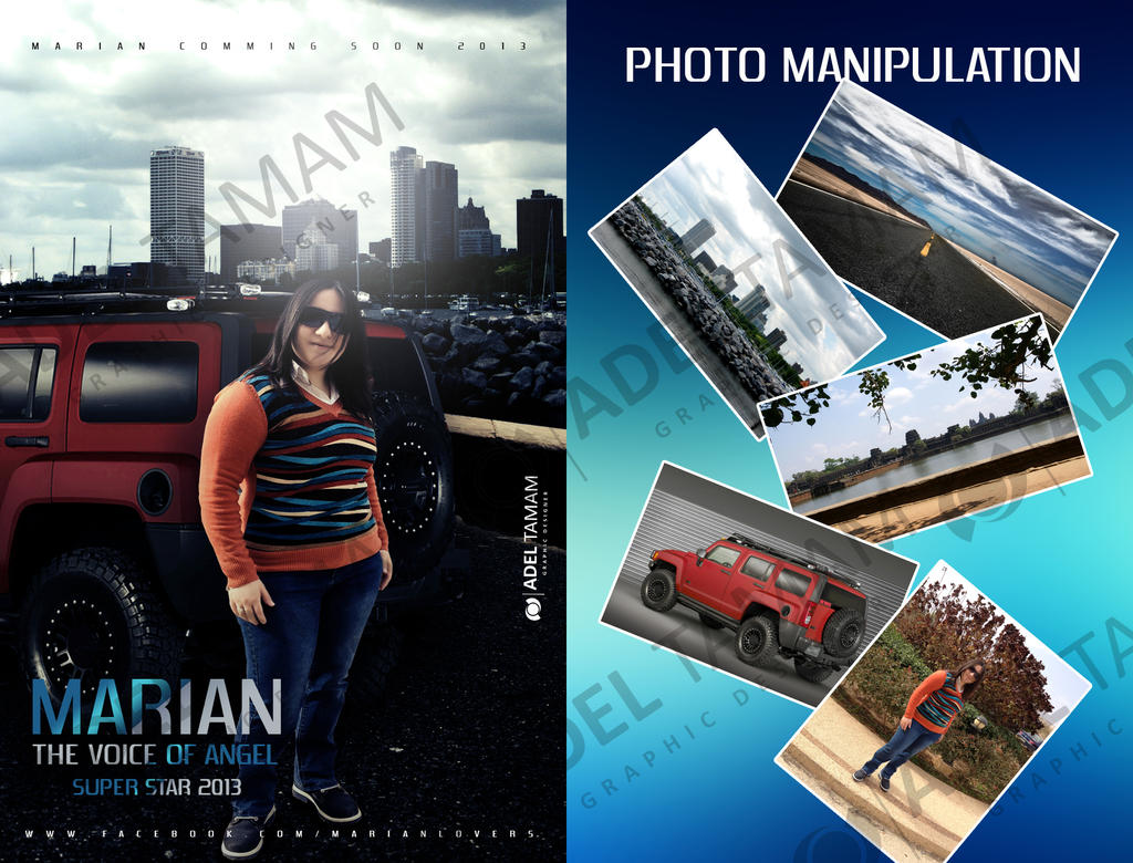 photo manipulation poster marian by elpop basha on photo manipulation poster marian 2013 by elpop basha