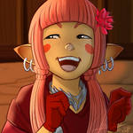 Lalafell || Commission by MisterMismatched