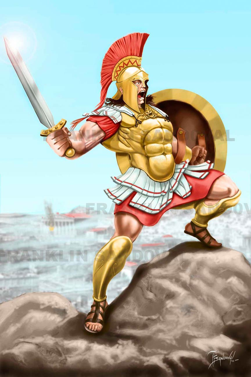 an introduction to the mythology of ares My greek god/goddess was ares ares was the god of war his roman name was mars he was usually found on his throne on mt olympus ares's superpowers were superhuman.