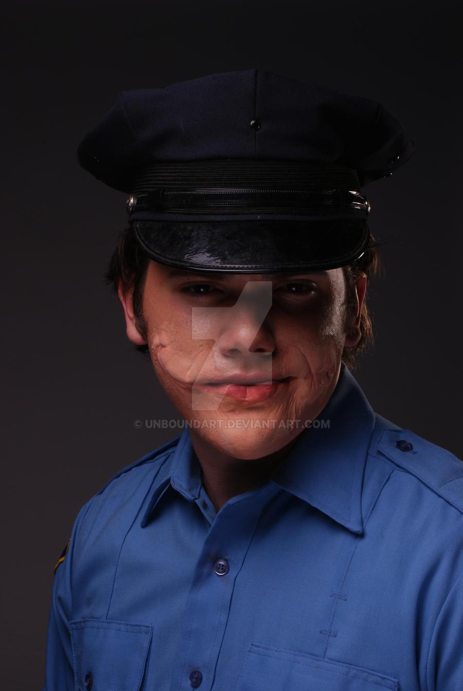 Dk Joker Without Make Up By Unboundart On Deviantart - Joker-no-makeup-ics
