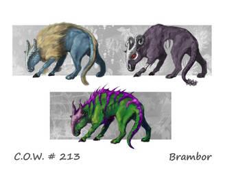 Game Critter Quadruped