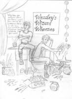 Weasley Twins Joke shop by melodytime