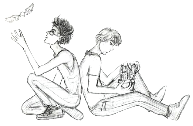 Neville and Harry by melodytime