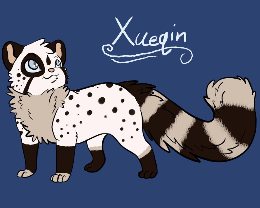 New OC - Xueqin by AquatheOhioKitty