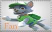 Rocky Fan - Paw Patrol Stamp by AquatheOhioKitty