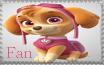 Skye Fan - Paw Patrol Stamp by AquatheOhioKitty