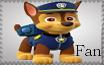 Chase Fan - Paw Patrol Stamp by AquatheOhioKitty