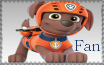 Zuma Fan - Paw Patrol Stamp by AquatheOhioKitty