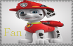 Marshall Fan - Paw Patrol Stamp by AquatheOhioKitty