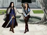 Elvira and Maja: Daughter's of gods. by Red-Queen666