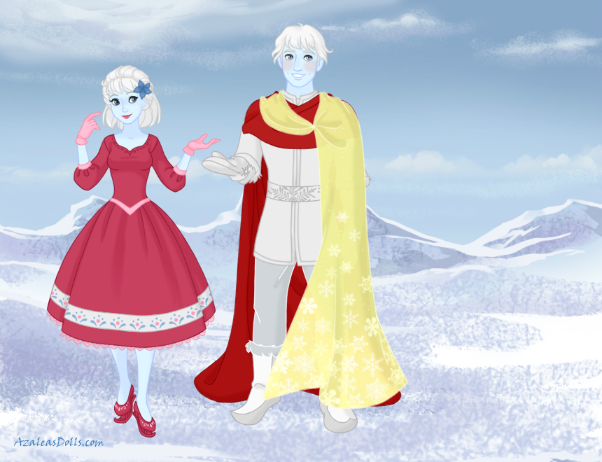 Frosty and Crystal: Love is forever :) by Red-Queen666